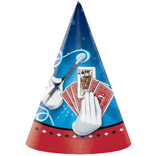 Magic Party Hats - Pack of 8