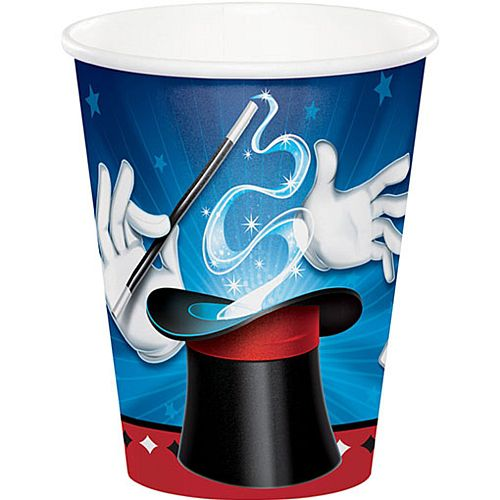 Magic Party Cups - 256ml - Pack of 8