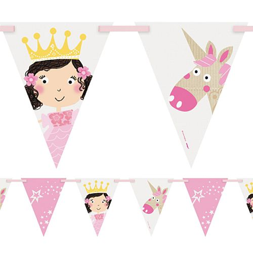 Unicorn Princess Bunting - 2.7m