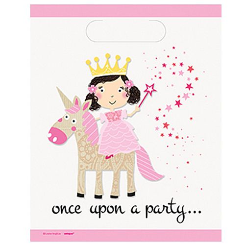 Unicorn Princess Party Bags - Pack of 8