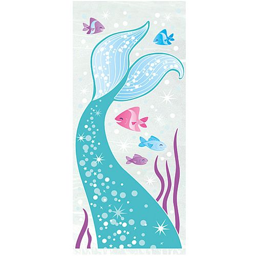 Mermaid Cello Bags - Pack of 20