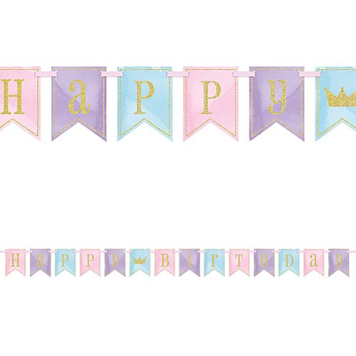 Magical Princess Happy Birthday Bunting - 2.7m