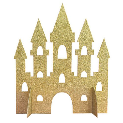 Magical Princess Castle Centrepiece - 36cm Tall