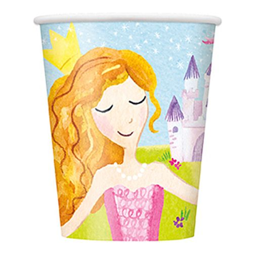 Magical Princess Cups - 256ml - Pack of 8
