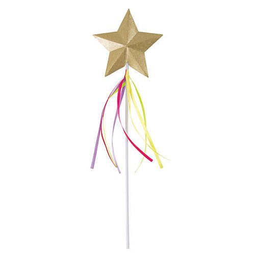 Magical Princess Rainbow Ribbon Wand