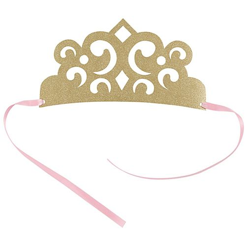 Magical Princess Paper Crowns - Pack of 4