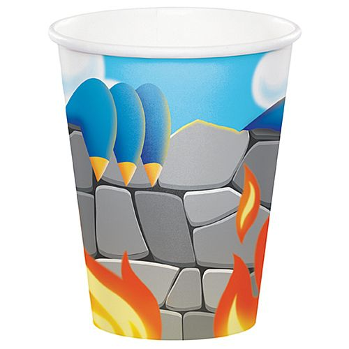 Dragon Fire Cups - 256ml - Pack of 8