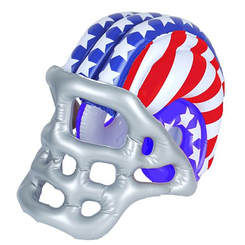 American Football Inflatable Helmet - 50cm x 33cm