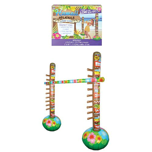 Inflatable Limbo 3 Piece Set - 1.7m x 1.8m