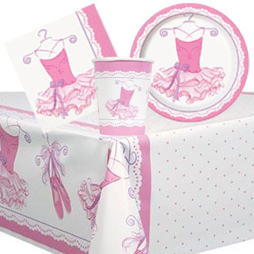 Pink Ballerina -  Party Pack For 8