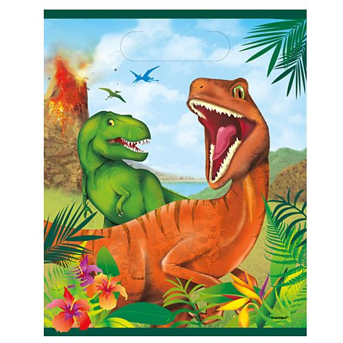 Dinosaur Party Bags - Pack of 8