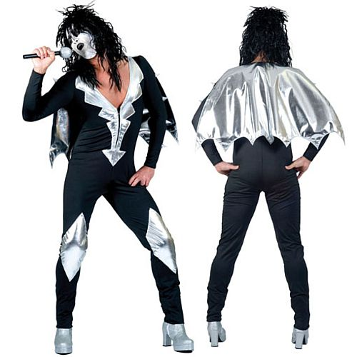 Glam Rock Jumpsuit - One Size