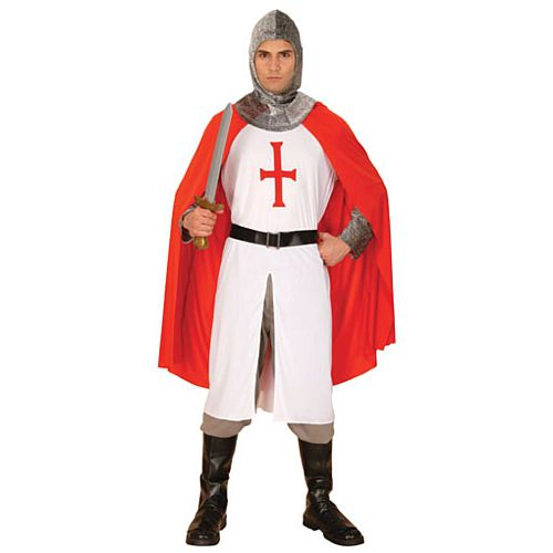 Knight Crusader Costume - One Size