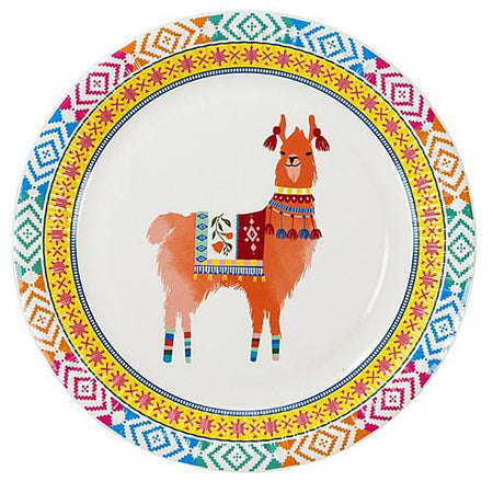 Click to view product details and reviews for Boho Llama Paper Plates 23cm Pack Of 8.