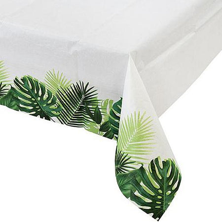 Tropical Fiesta Palm Leaf Tablecloth - 120cm x 180cm