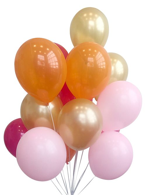 Flamingo Balloon Mix - Pack Of 38