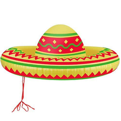 Inflatable Mexican Sombrero - 53cm