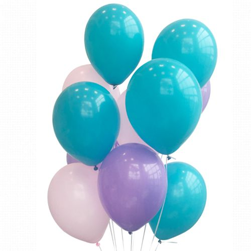 Mermaid Party Balloon Mix - Pack of 30
