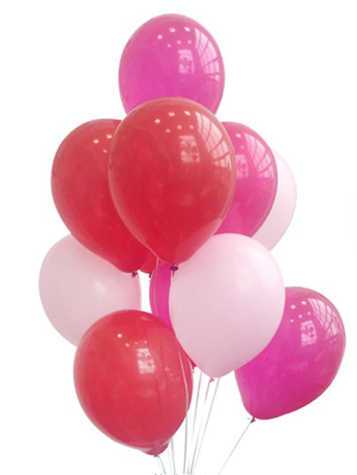 Valentines Balloon Mix - Pack Of 30