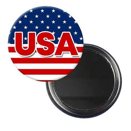 American USA Mirror - 5.8cm - Each