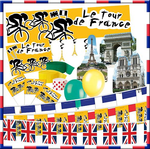 Tour de France Decoration Pack