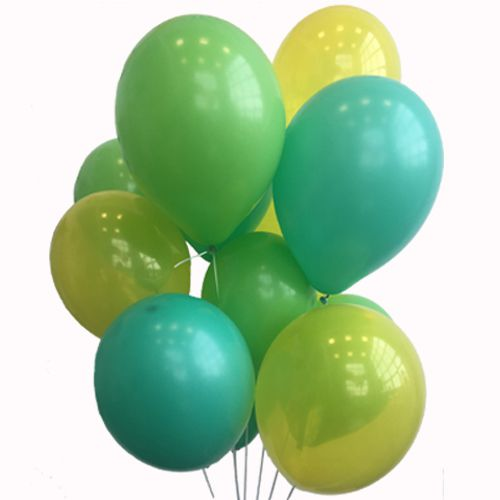 Jungle Party Balloon Mix - Pack Of 30