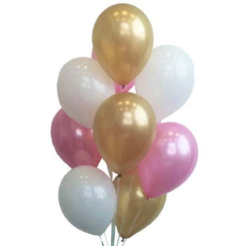 Baby Shower Balloon Mix - Girl - Pack Of 24