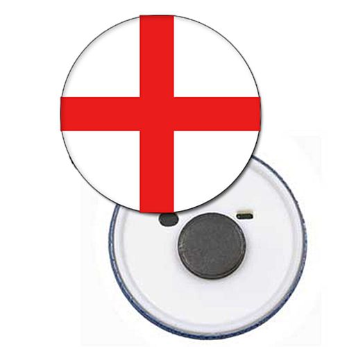 England Flag Magnet - 58mm - Each