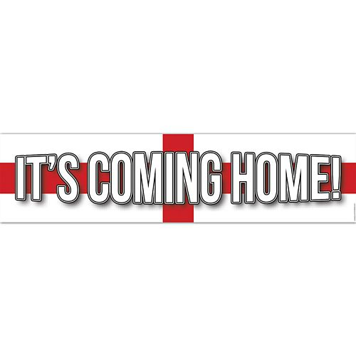It's Coming Home Football Banner - 1.2m