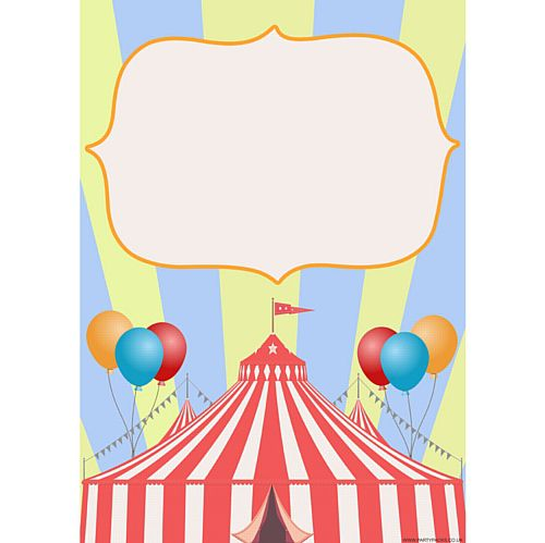 Circus Announcement Poster - A3