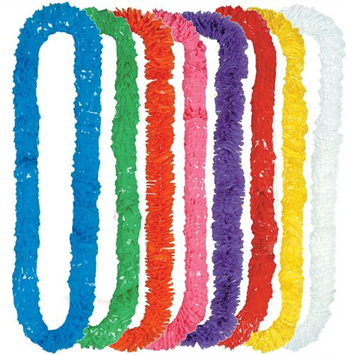 Assorted Colour Hawaiian Lei - 90cm - Pack of 24