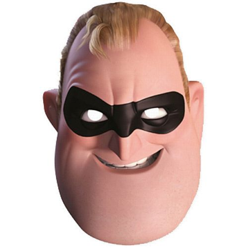 Official Mr Incredible Incredibles 2 Card Mask
