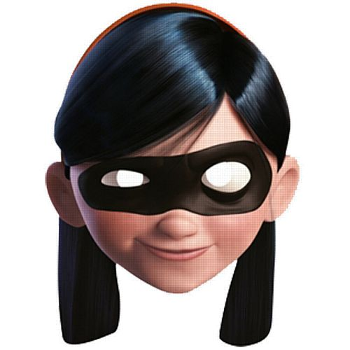 Official Violet Incredibles 2 Card Mask