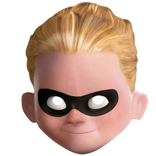 Official Dash Incredibles 2 Card Mask
