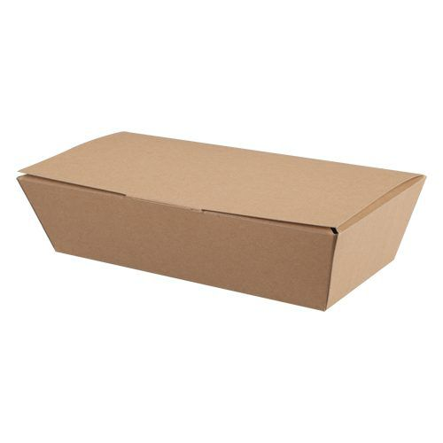 Kraft Biodegradable Food Box - Each