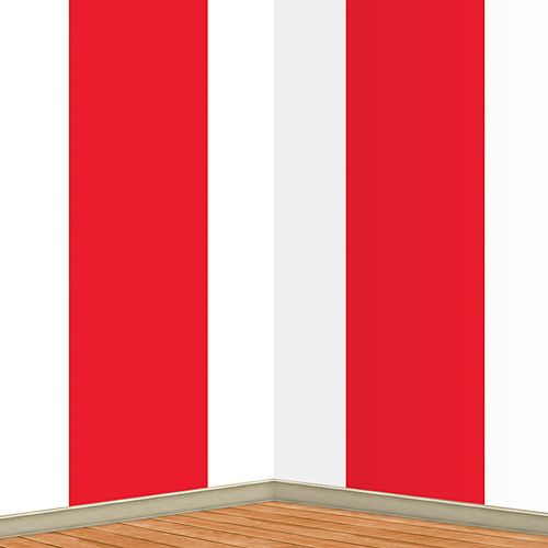 Circus Plastic Backdrop - 1.22m