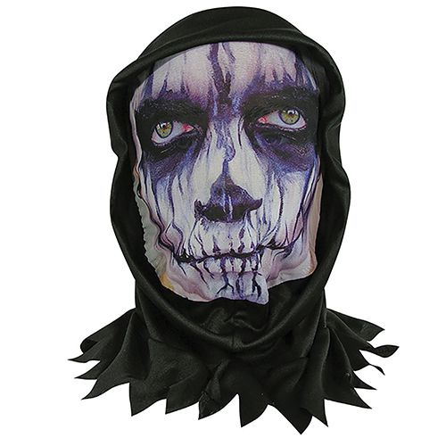 Skin Mask With Hood - Stitches
