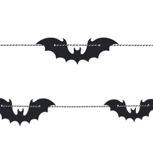 Black Bat Garland - 1.8m