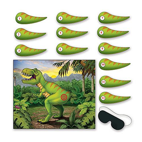 Pin the Tail on the Dinosaur Game - 55cm