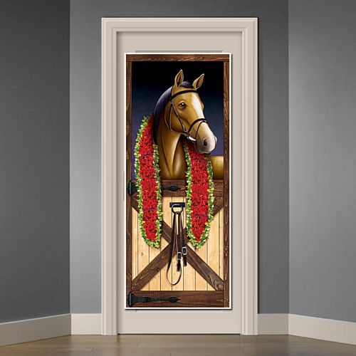 Horse Racing Door Cover - 1.83m
