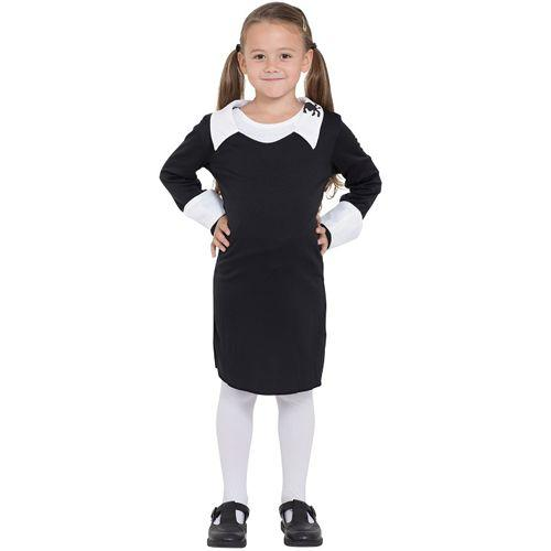 Girl's Creepy Schoolgirl Costume