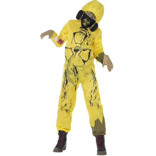 Child's Toxic Waste Biohazard Costume
