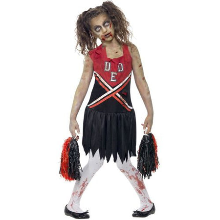 Girl's Zombie Cheerleader Costume