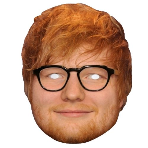 Ed Sheeran Card Mask