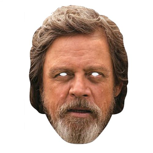 Luke Skywalker Card Mask
