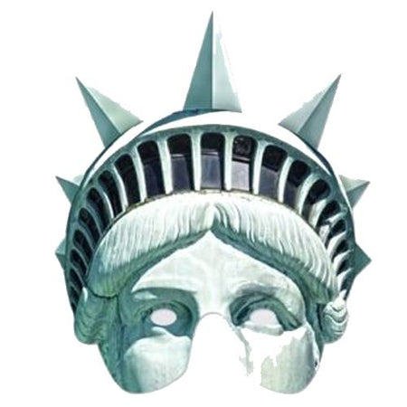 Statue Of Liberty Card Mask