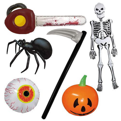 Halloween Inflatables - Pack of 6
