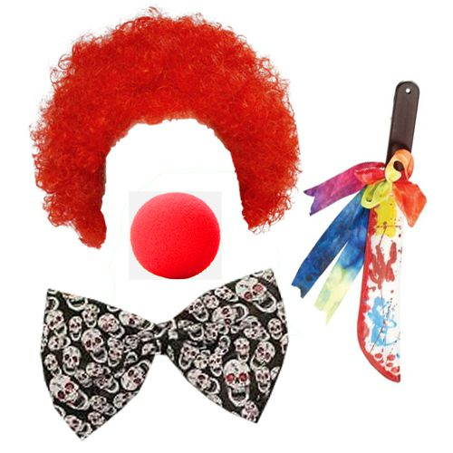 Killer Clown Fancy Dress Kit