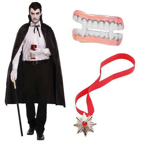 Vampire Fancy Dress Kit