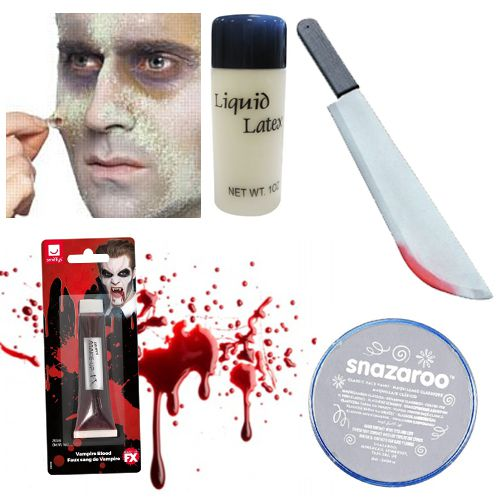 Zombie Fancy Dress Kit